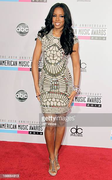 Singer Kelly Rowland attends the 40th Anniversary American Music Awards held at Nokia Theatre LA Live on November 18 2012 in Los Angeles California