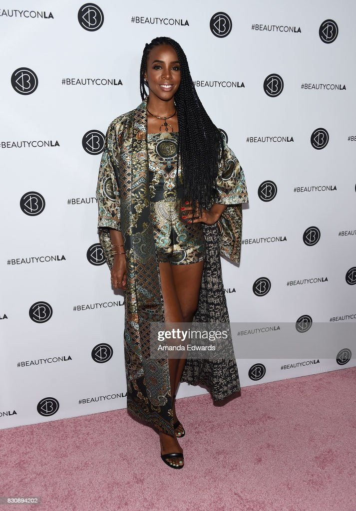 Singer Kelly Rowland attends the 5th Annual Beautycon Festival Los Angeles at the Los Angeles Convention Center on August 12, 2017 in Los Angeles, California.