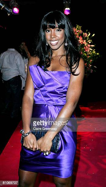Singer Kelly Rowland attends the afterparty following the world premiere of 'Sex And The City' at Old Billingsgate on May 12 2008 in London England