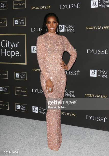 Singer Kelly Rowland attends the City Of Hope Gala on October 11 2018 in Los Angeles California