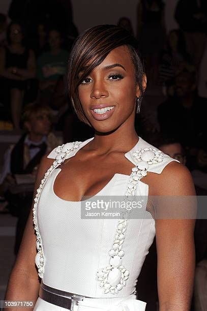 Singer Kelly Rowland attends the Edition by Georges Chakra Spring 2011 fashion show during MercedesBenz Fashion Week at The Stage at Lincoln Center...