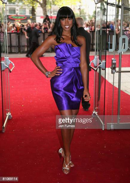 Singer Kelly Rowland attends the Sex And The City world premiere held at the Odeon Leicester Square on May 12 2008 in London England