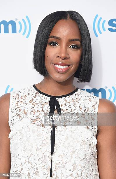 Singer Kelly Rowland visits SiriusXM Studios on August 24 2016 in New York City