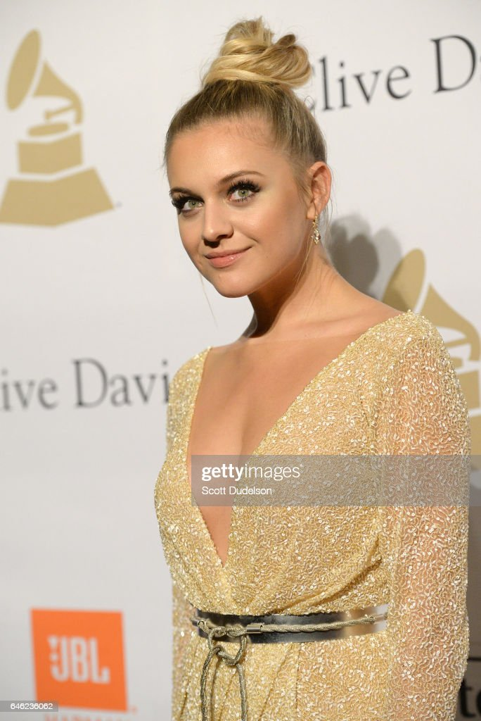 Singer Kelsea Ballerini attends the 2017 Pre-Grammy Gala and Salute to Industry Icons Event at The Beverly Hilton Hotel on February 11, 2017 in Beverly Hills, California.