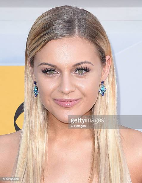Singer Kelsea Ballerini attends the 51st Academy of Country Music Awards at MGM Grand Garden Arena on April 3 2016 in Las Vegas Nevada