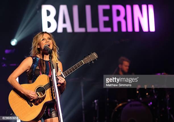 Singer Kelsea Ballerini performs onstage at The Wiltern on December 8 2016 in Los Angeles California