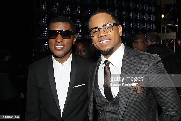 Singer Kenneth 'Babyface' Edmonds and recording artist Mack Wilds attend BET Honors 2016 at Warner Theatre on March 5 2016 in Washington DC