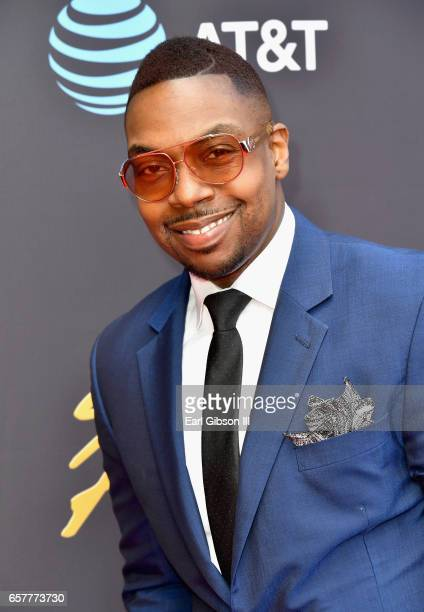 Singer Kenny Lewis arrives at the 32nd annual Stellar Gospel Music Awards at the Orleans Arena on March 25, 2017 in Las Vegas, Nevada.