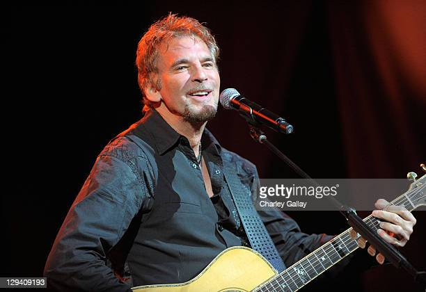 Singer Kenny Loggins performs onstage at the 20th Annual Environmental Media Awards at Warner Bros Studios on October 16 2010 in Burbank California