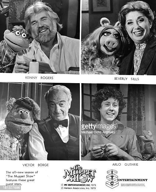 Singer Kenny Rogers and Scooter Miss Piggy and Singer Beverly Sills Musician Victor Borge and Fozzie Bear Folk Singer Arlo Guthrie and Robin the Frog...