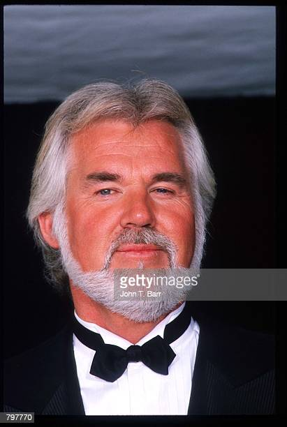 Singer Kenny Rogers attends the second annual America's Hope Award ceremony February 23 1989 in Los Angeles CA Actress Elizabeth Taylor received the...
