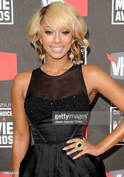 Singer Keri Hilson arrives at the 16th annual Critics' Choice Movie Awards at the Hollywood Palladium on January 14 2011 in Los Angeles California