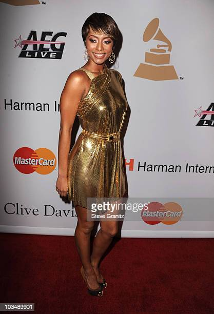 Singer Keri Hilson arrives at the 52nd Annual GRAMMY Awards Salute To Icons Honoring Doug Morris held at The Beverly Hilton Hotel on January 30 2010...