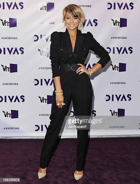 "Singer Keri Hilson arrives at the ""VH1 Divas"" 2012 at The Shrine Auditorium on December 16, 2012 in Los Angeles, California."