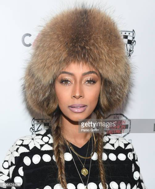 Singer Keri Hilson attends 10th Annual Celebration 4 A Cause Where Music Meets Fashion For A Cure at Atlanta City Hall Atrium on December 20 2017 in...