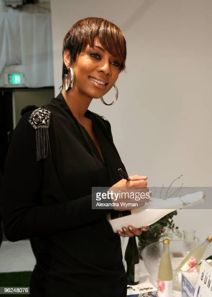 Singer Keri Hilson attends GRAMMY Style Studio Day 2 at Smashbox West Hollywood on January 28, 2010 in West Hollywood, California.