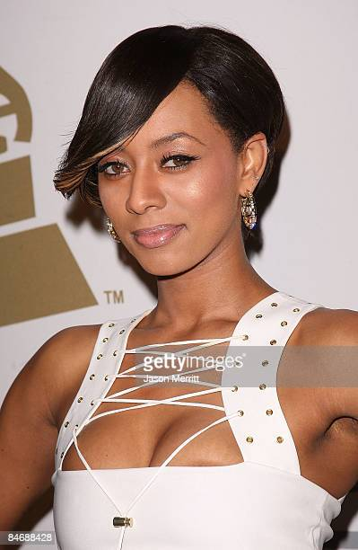 Singer Keri Hilson attends the 2009 GRAMMY Salute To Industry Icons honoring Clive Davis at the Beverly Hilton Hotel on February 7 2009 in Beverly...