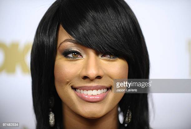Singer Keri Hilson attends the OK Magazine preOscar party at Beso on March 5 2010 in Hollywood California