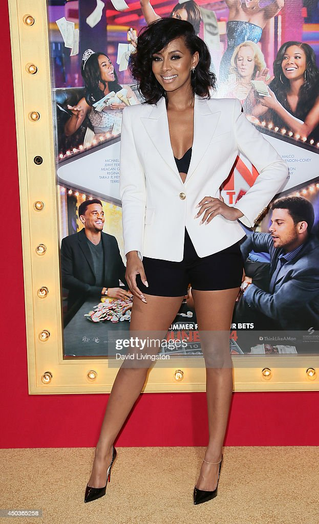 Singer Keri Hilson attends the premiere of Screen Gems' 'Think Like a Man Too' at the TCL Chinese Theatre on June 9, 2014 in Hollywood, California.