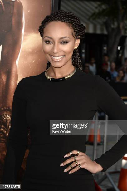 """Singer Keri Hilson attends the premiere of Universal Pictures' """"Riddick"""" at Mann Village Theatre on August 28, 2013 in Westwood, California."""