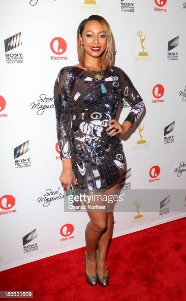Singer Keri Hilson attends the Steel Magnolias New York Premiere at Paris Theatre on October 3 2012 in New York City