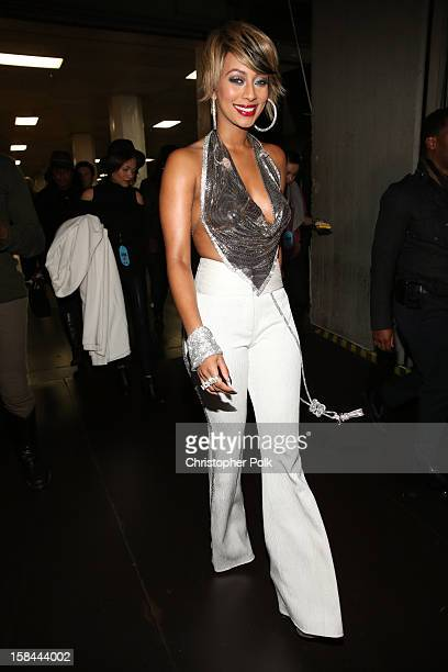 Singer Keri Hilson attends 'VH1 Divas' 2012 at The Shrine Auditorium on December 16 2012 in Los Angeles California