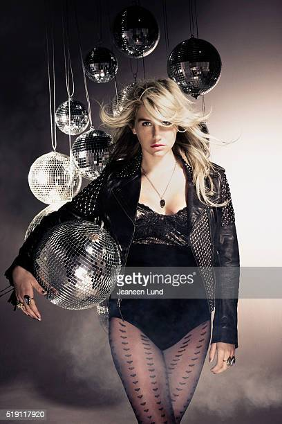 Singer Kesha is photographed for Complex Magazine on November 1 2010 in Los Angeles California