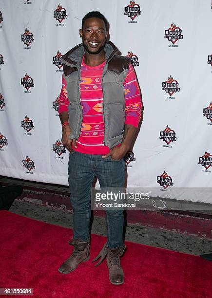 Singer Kevin McCall attends the RB Divas LA Celebration of Life at House of Blues Sunset Strip on January 14 2015 in West Hollywood California