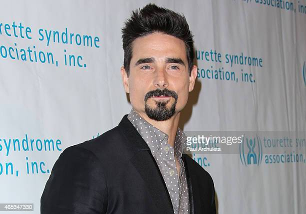 Singer Kevin Richardson attends the 2nd annual Hollywood Heals spotlight on Tourette Syndrome at House of Blues Sunset Strip on March 5 2015 in West...