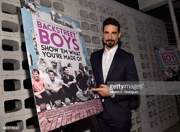 Singer Kevin Richardson attends the premiere of Gravitas Ventures' Backstreet Boys Show 'Em What You're Made Of at on January 29 2015 in Hollywood...