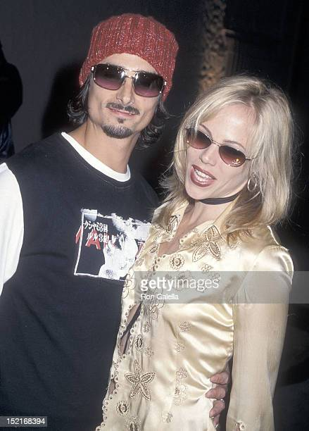 Singer Kevin Richardson of the Backstreet Boys and wife Kristin attend Warner Bros Records and US Weekly Host a Party to Celebrate the Release of...
