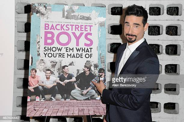 Singer Kevin Richardson of the Backstreet Boys attends the premiere of Gravitas Ventures' 'Backstreet Boys Show 'Em What You're Made Of' at ArcLight...