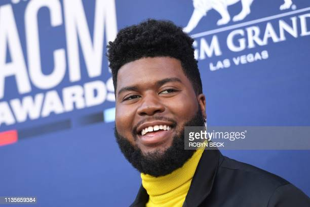 Singer Khalid arrives for the 54th Academy of Country Music Awards on April 7 at the MGM Grand Garden Arena in Las Vegas, Nevada.