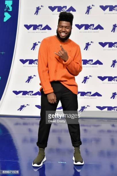 Singer Khalid attends the 2017 MTV Video Music Awards at The Forum on August 27 2017 in Inglewood California