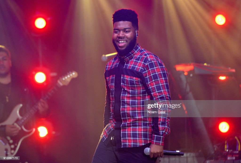 Spotify's Best New Artist Party featuring Lil Uzi Vert, SZA, Khalid, Alessia Cara and Julia Michaels held at Skylight Clarkson : News Photo
