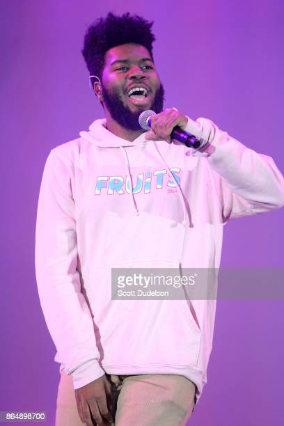 Singer Khalid performs onstage during the 5th annual 'We Can Survive' benefit concert presented by CBS Radio at the Hollywood Bowl on October 21 2017...