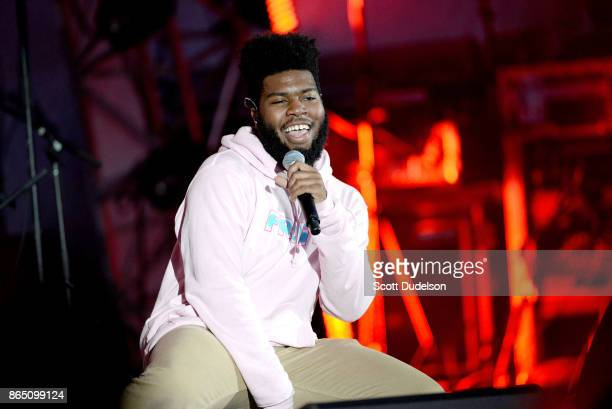 Singer Khalid performs onstage during the 5th annual We Can Survive benefit concert presented by CBS Radio at the Hollywood Bowl on October 21 2017...