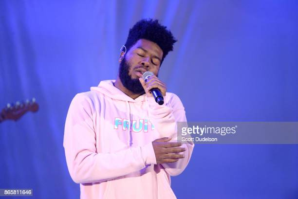 """Singer Khalid performs onstage during the 5th annual """"We Can Survive"""" benefit concert presented by CBS Radio at the Hollywood Bowl on October 21,..."""
