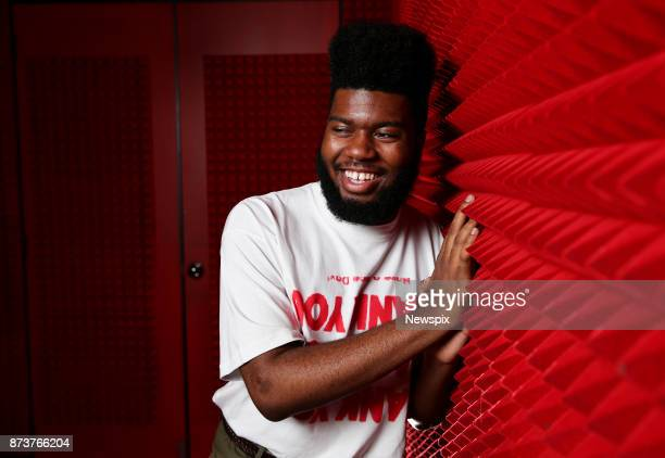 SYDNEY NSW Singer Khalid poses during a photo shoot in Sydney New South Wales