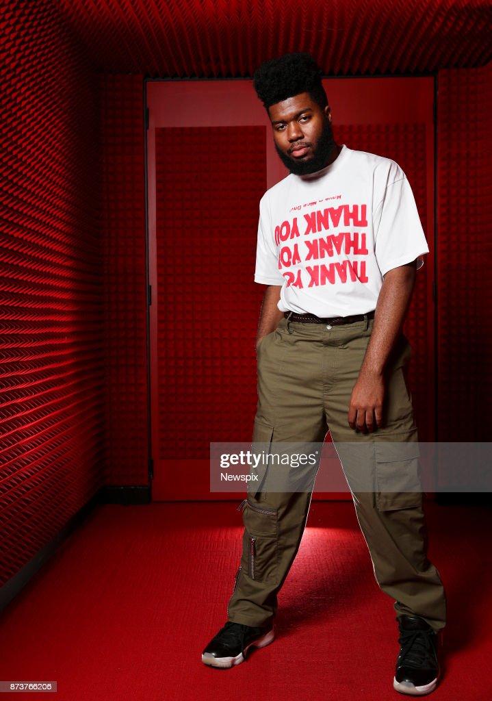 Khalid Sydney Portrait Shoot : News Photo