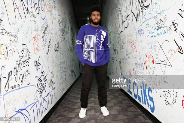 Singer Khalid visits Music Choice on March 13 2017 in New York City