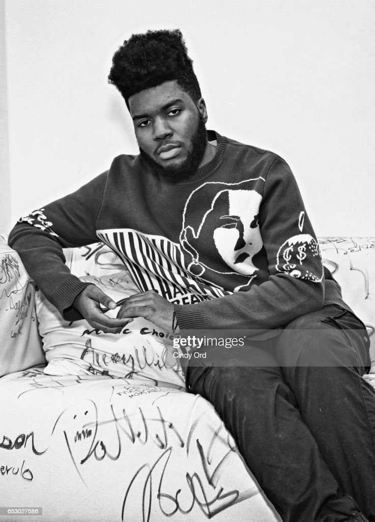 Singer Khalid visits Music Choice on March 13, 2017 in New York City