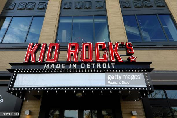 Singer Kid Rock's 'Made In Detroit' restaurant at Little Caesars Arena home of the Detroit Red Wings hockey team and Detroit Pistons basketball team...