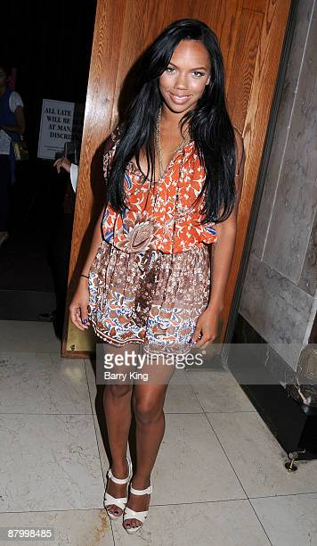 Singer Kiely Williams of The Cheetah Girls arrives at Venice Magazine's Venice Night at the Pantages Theatre showing of Dirty Dancing at the Pantages...