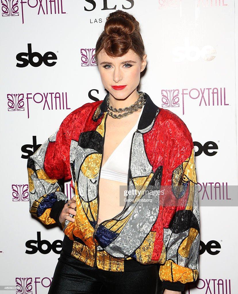 Kiesza Performs At Foxtail Nightclub Inside SLS Las Vegas