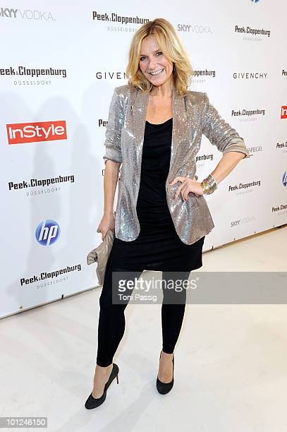 Singer Kim Fisher attends the 'Sex And The City 2' movie night at the Peek Cloppenburg flagship store on May 28 2010 in Berlin Germany