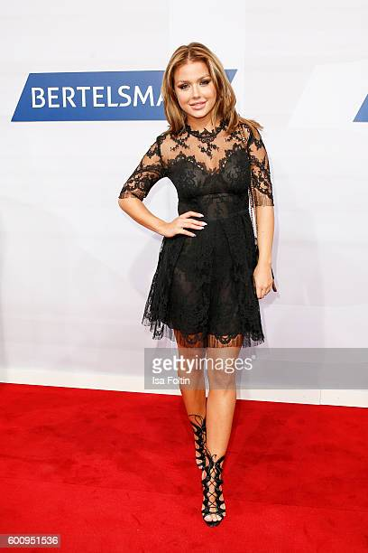 Singer Kim Gloss attends the Bertelsmann Summer Party at Bertelsmann Repraesentanz on September 8 2016 in Berlin Germany