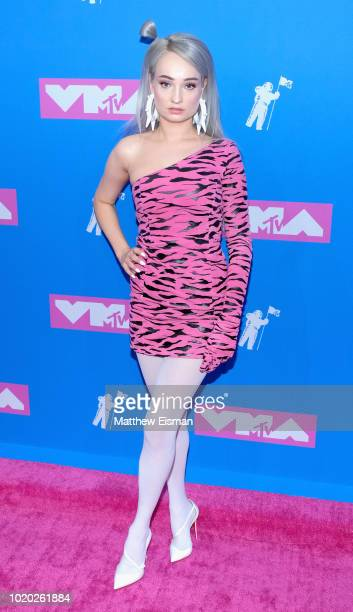 Singer Kim Petras attends the 2018 MTV Video Music Awards at Radio City Music Hall on August 20 2018 in New York City