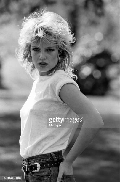 Singer Kim Wilde who has a record in the charts 14th April 1981