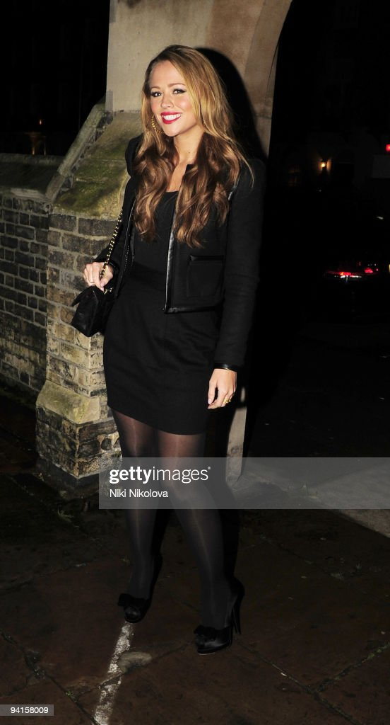Celebrity Sightings In London - December 08, 2009